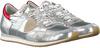 Zilveren PHILIPPE MODEL Lage sneakers TROPEZ L JUNIOR  - small