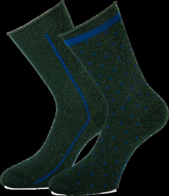 Groene MARCMARCS Sokken ELENA COTTON - large