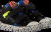 Zwarte RED-RAG Sneakers 13329  - small