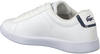 Witte LACOSTE Sneakers CARNABY EVO DAMES  - small