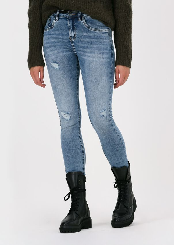 Lichtblauwe CIRCLE OF TRUST Skinny jeans COOPER - larger