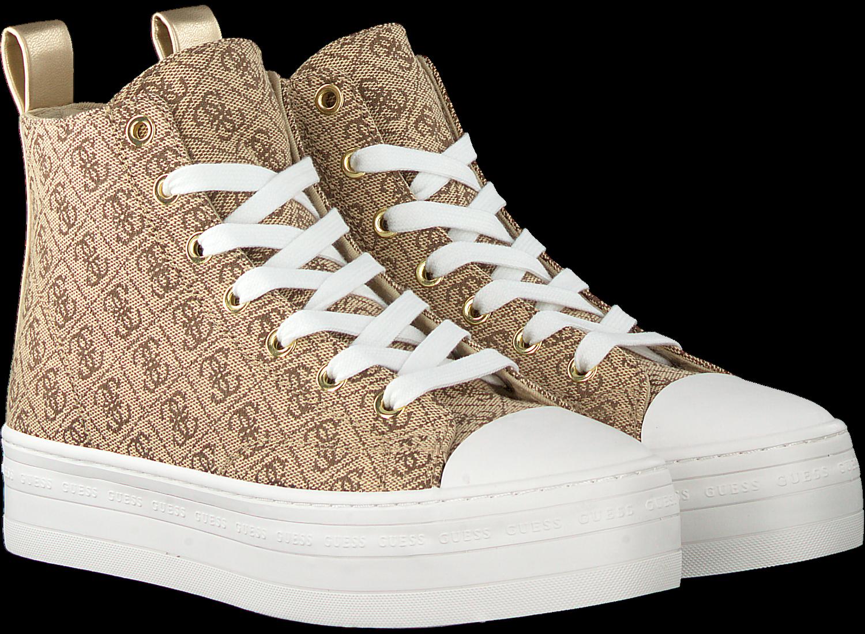 Beige GUESS Hoge sneaker BOKAN Omoda.nl