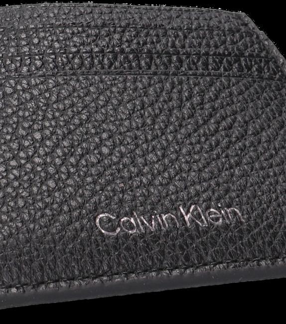 Zwarte CALVIN KLEIN Portemonnee WARMTH CARDHOLDER  - large