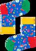 Blauwe HAPPY SOCKS Sokken KIDS FRUIT SALAD SOCK  - small