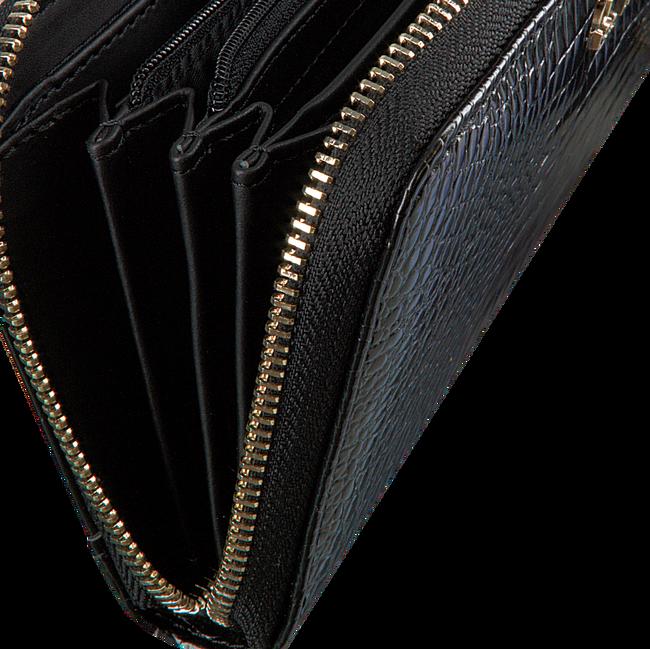 Zwarte GUESS Portemonnee KAMRYN SLG LARGE ZIP AROUND  - large