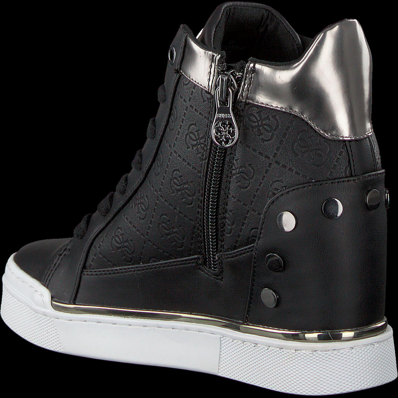 Zwarte GUESS Sneakers FINLY Omoda.nl