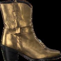 Gouden TANGO Enkellaarsjes ELLA SQUARE 11  - medium