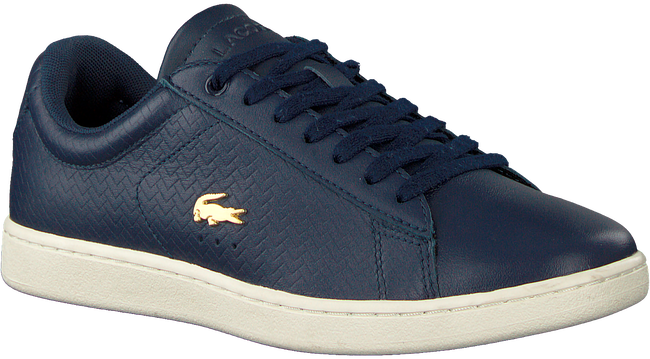 Blauwe LACOSTE Sneakers CARNABY EVO DAMES  - large
