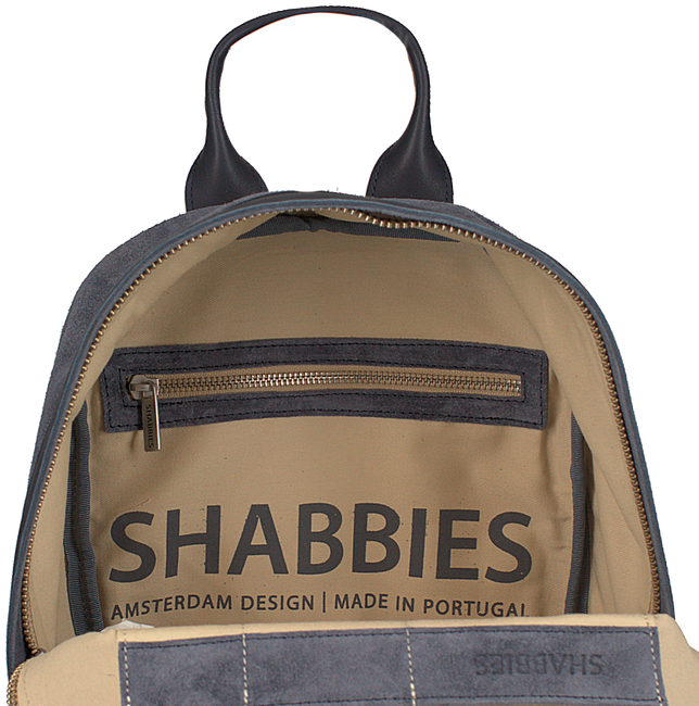 Blauwe SHABBIES Rugtas 252020002 - large