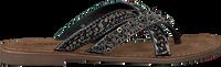 Zwarte LAZAMANI Slippers 75.526 - medium