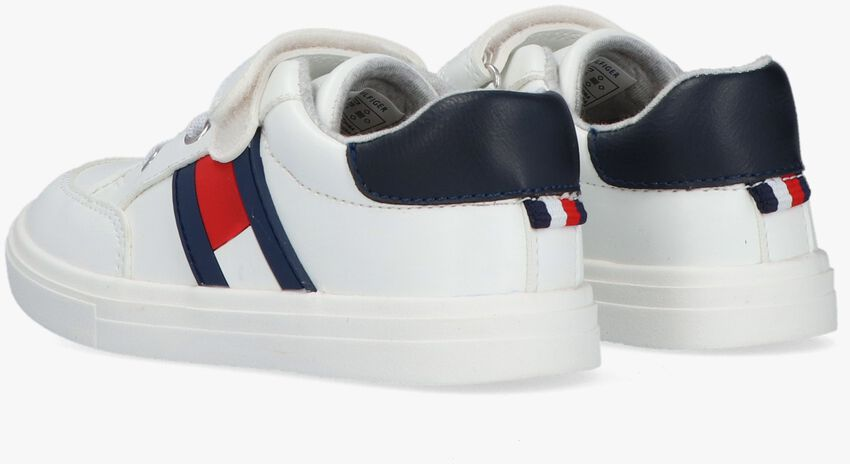 Witte TOMMY HILFIGER Lage sneakers 30702  - larger