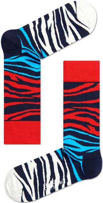 Blauwe HAPPY SOCKS Sokken BZ01 - large