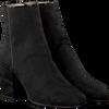 Zwarte NUBIKK Enkellaarsjes GIGI ROMA CAMO II - small