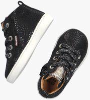 Zwarte DEVELAB Hoge sneaker 41602  - medium