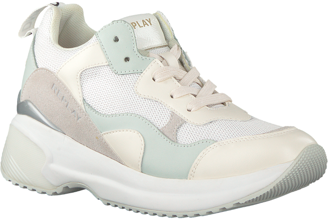 Witte REPLAY Veterschoenen THEME - large
