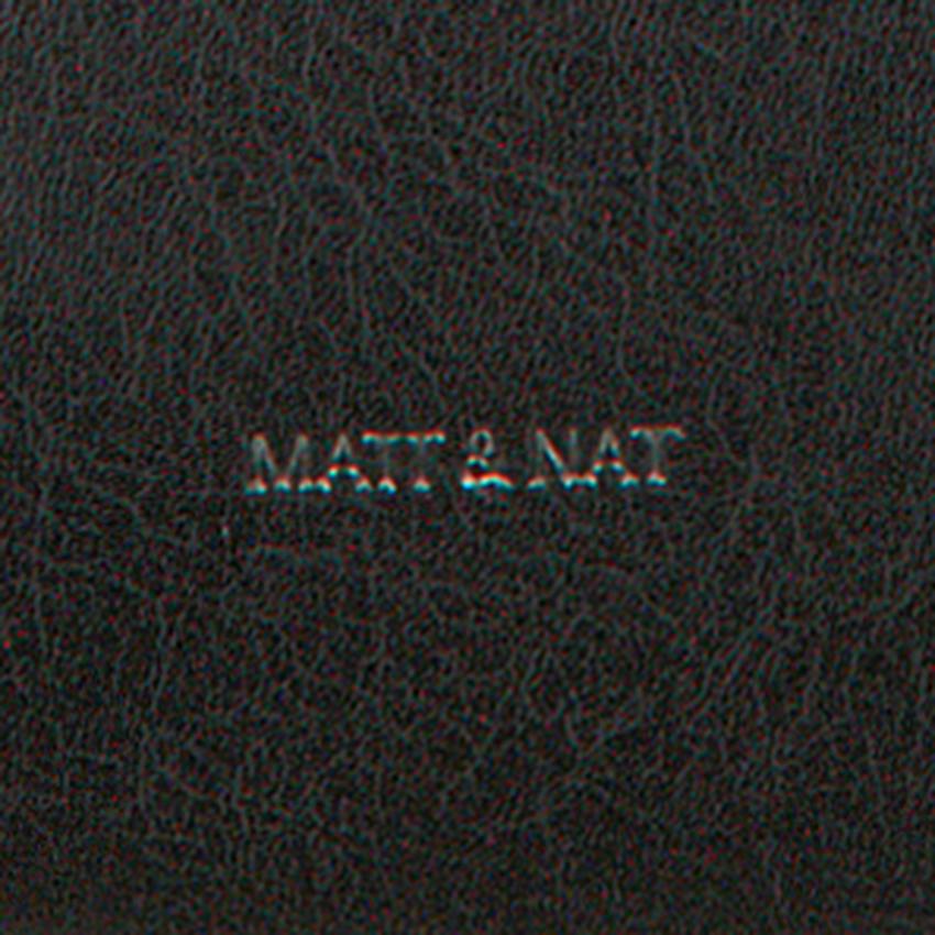 Zwarte MATT & NAT Schoudertas ONRA SHOULDERBAG  - larger