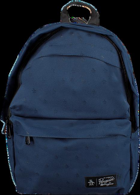 Blauwe ORIGINAL PENGUIN Rugtas CHATHAM AOP PETE BACKPACK - large