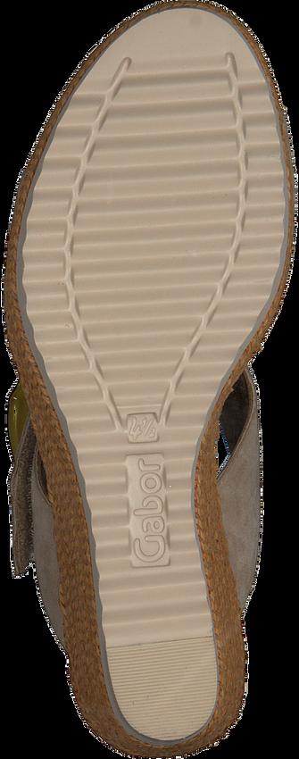 Beige GABOR Sandalen 795.1  - larger