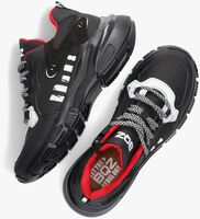 Zwarte BRAQEEZ Lage sneakers GIO GENNA  - medium