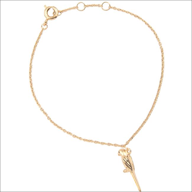 Gouden ALLTHELUCKINTHEWORLD Armband SOUVENIR BRACELET PARROT - large