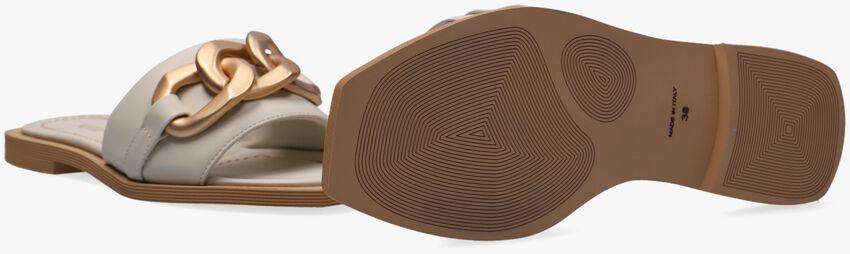 Witte NOTRE-V Slippers B4418  - larger