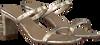 Gouden TORAL Muiltjes 12315  - small