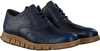 Blauwe COLE HAAN Sneakers ZEROGRAND WING OX  - small