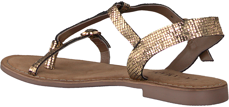Lazamani Dames Sandalen 75.501 - Goud