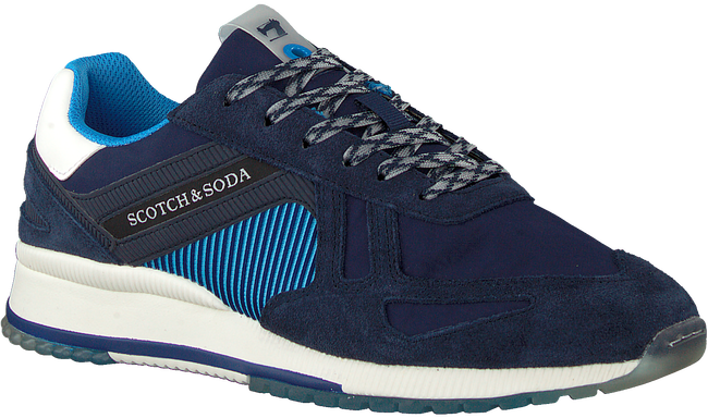 Blauwe SCOTCH & SODA Lage sneakers VIVEX  - large
