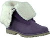 Paarse TIMBERLAND Enkelboots 6IN WP SHEARLING BOOT  - small