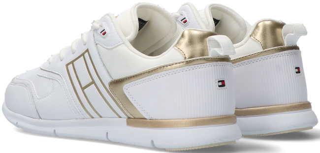 Witte TOMMY HILFIGER Lage sneakers METALLIC LIGHTWEIGHT - large