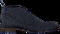 Blauwe FLORIS VAN BOMMEL Veterschoenen 10203  - medium