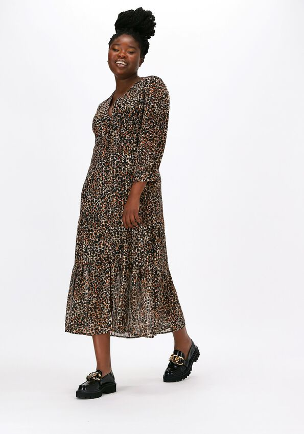Multi SECOND FEMALE Maxi jurk ERNA FITTED DRESS  - larger