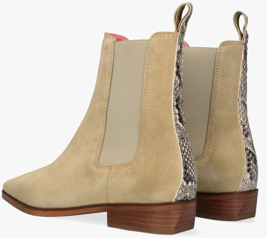 Beige SCOTCH & SODA Chelsea boots AMIE  - larger
