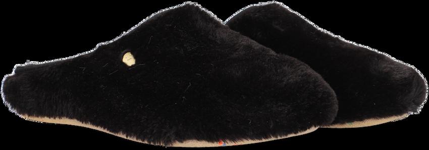Zwarte HOT POTATOES Pantoffels ALINGSAS  - larger