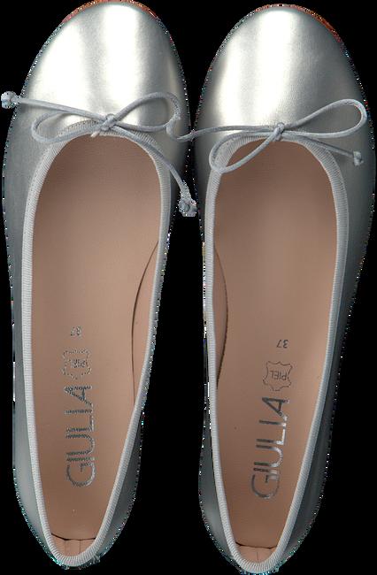 Zilveren GIULIA Ballerina's G.12.BALLERINA  - large