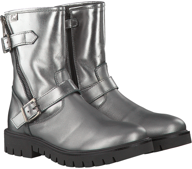 Zilveren EB SHOES Biker boots 891  - large
