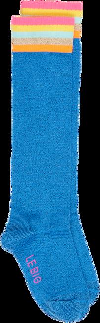 Blauwe LE BIG Sokken NISA KNEE HIGH  - large