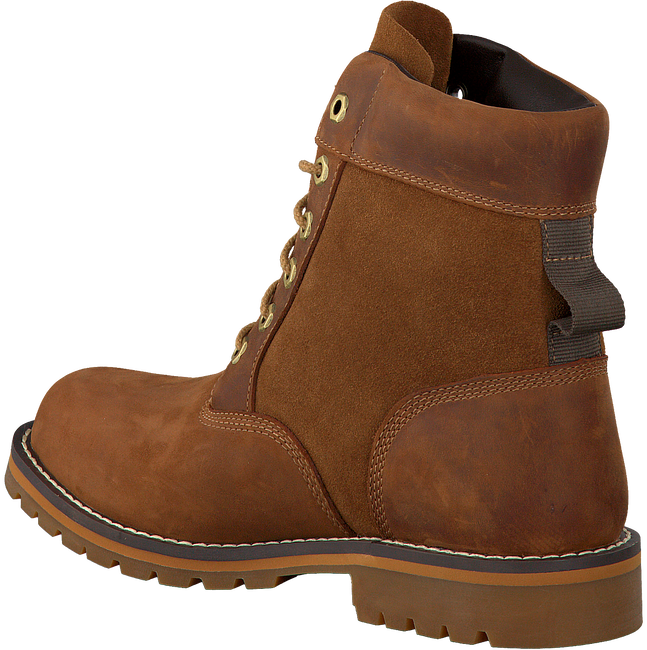 Cognac TIMBERLAND Enkelboots LARCHMONT 6IN BOOT B MED  - large