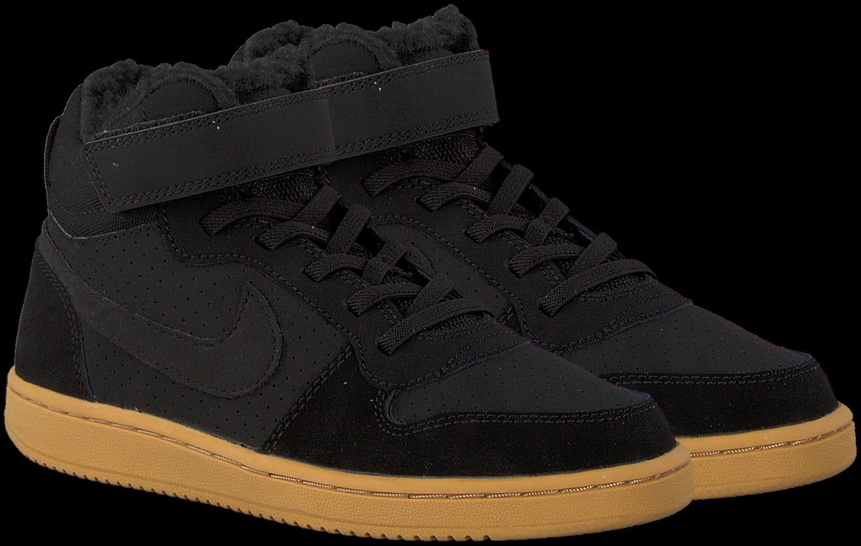 Zwarte Sneakers Court Borough Mid Winter Kids