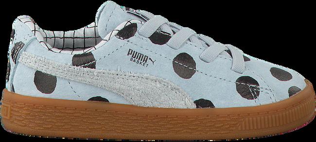 Blauwe PUMA Sneakers PUMA X TC BASKET NUBUCK  - large