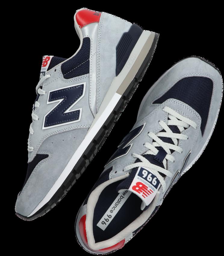 Grijze NEW BALANCE Lage sneakers CM996  - larger