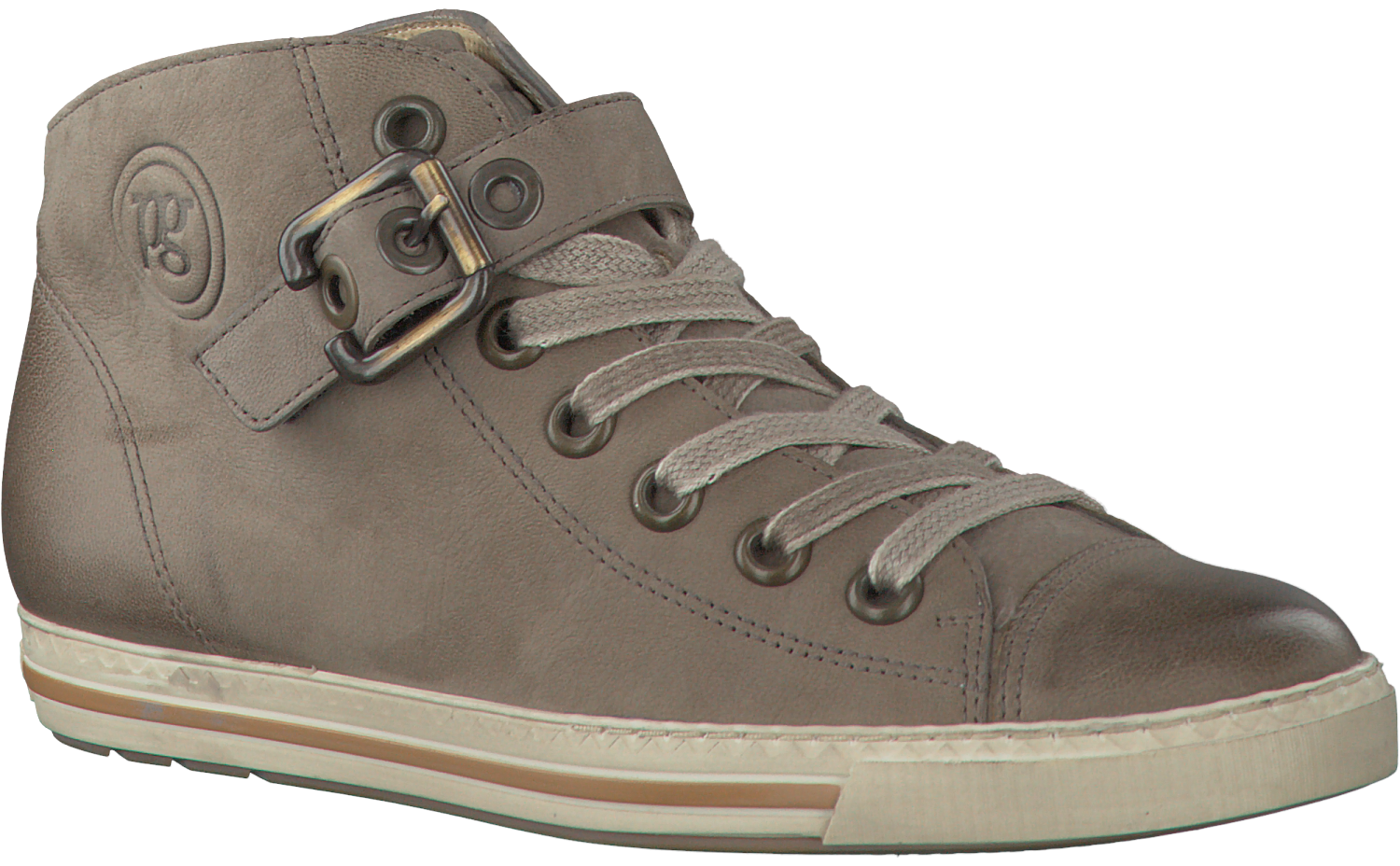 taupe paul green sneakers 1157. Black Bedroom Furniture Sets. Home Design Ideas