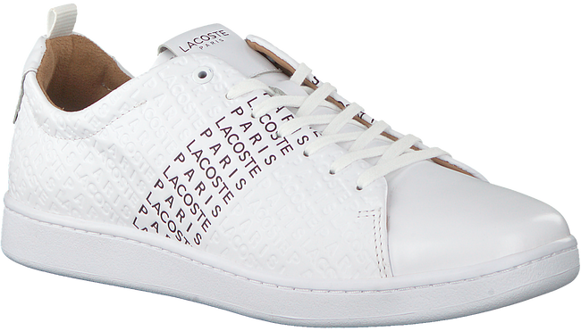 Witte LACOSTE Sneakers CARNABY EVO 319 12  - large