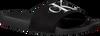 Zwarte CALVIN KLEIN Slippers VIGGO  - small