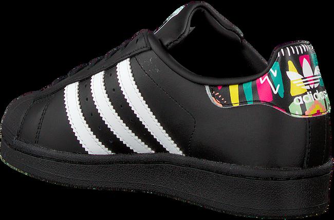 Zwarte ADIDAS Sneakers SUPERSTAR J  - large