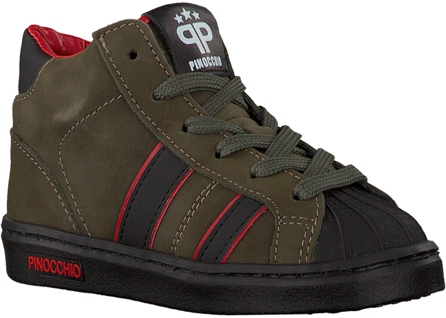 Groene PINOCCHIO Hoge sneaker P1896  - large