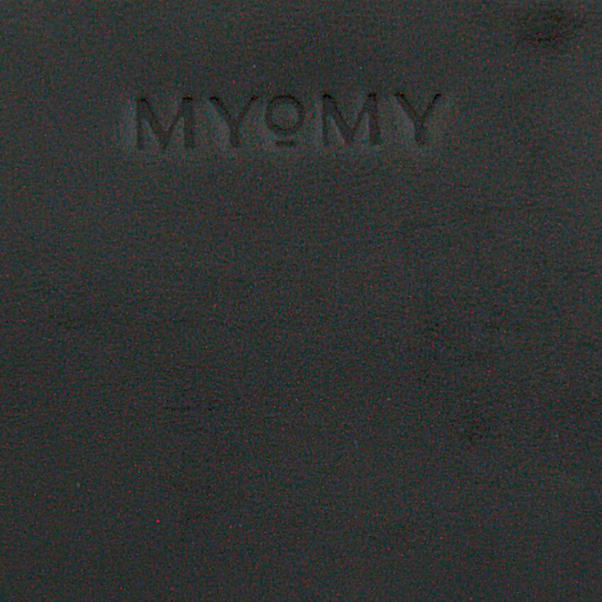 Zwarte MYOMY Schoudertas MY BOXY BAG CAMERA - larger