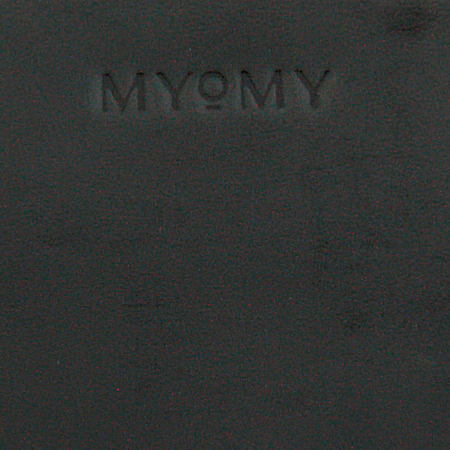Zwarte MYOMY Schoudertas MY BOXY BAG CAMERA - large