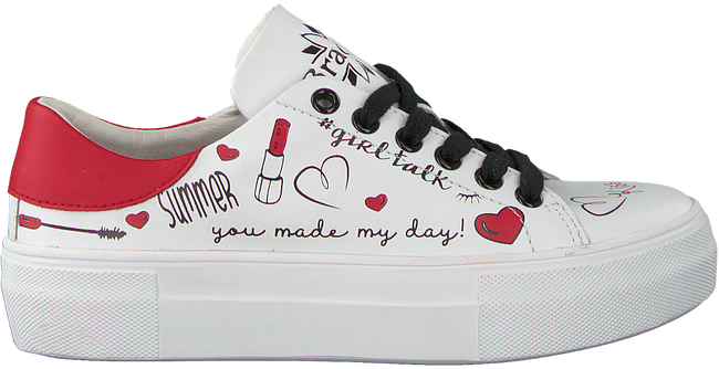 Witte BRAQEEZ Sneakers DANNI DREAM  - large
